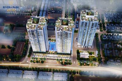 Phối cảnh dự án Rivera Park Sài Gòn