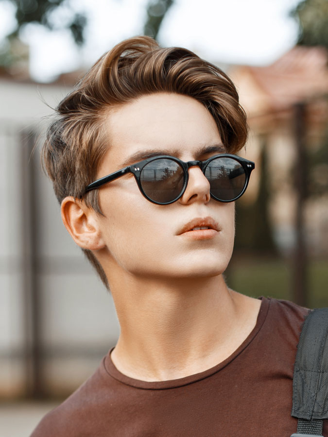 Super Mens New Hairstyles With High Volume 2017 Lifestyle Short Hairstyles Gunalazisus