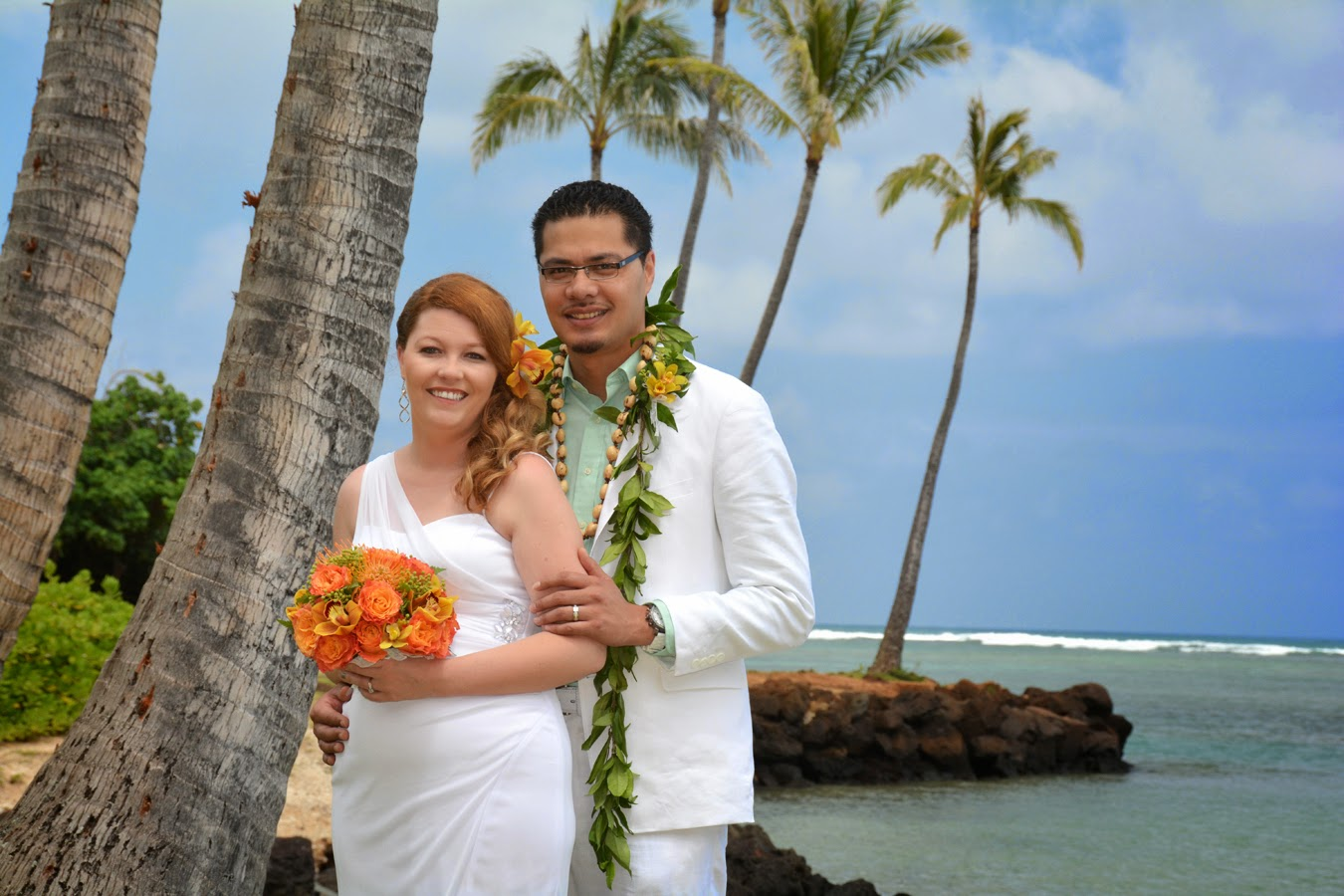 Kahala Beach Marriage