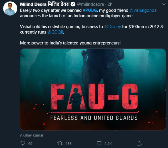 FAU-G mobile game-FAU-G an Indian alternative to PUBG