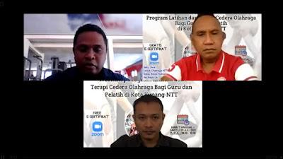 Pemuda Asal  Minang Melakukan Pengabdian Masyarakat di Kota Kupang NTT