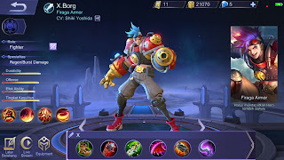 Build Hero Terbaru Mobile Legends X.Borg, Paling Joss!!!!