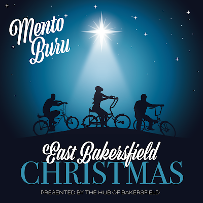 The cover features an illustration of a star shining down on the silhouettes of three kids on banana seat bikes (who are meant to represent a version of the three kings traveling to honor Jesus after his birth).