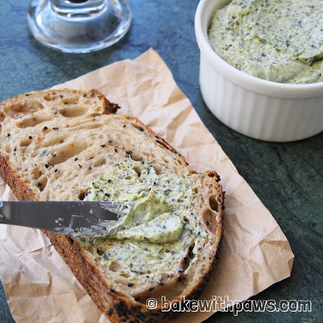 Seaweed and Truffle Butter