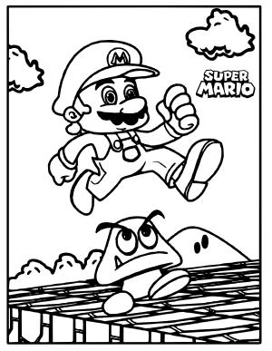Cositas Entretenidas Y Faciles De Hacer Dibujos De Marios Bros Para