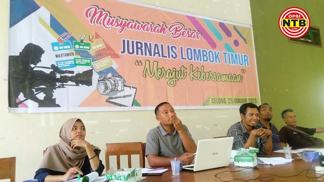 Sah, Forum Jurnalis Lombok Timur (FJLT) Resmi Dibentuk