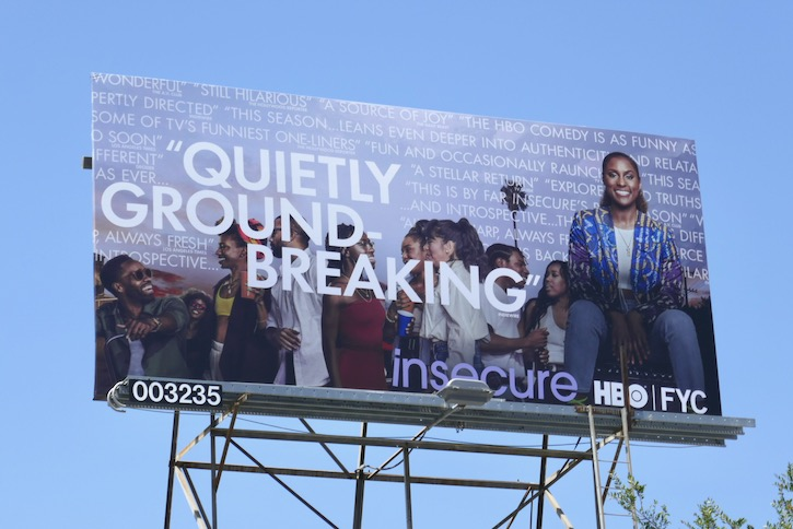 Insecure 2020 Emmy FYC billboard