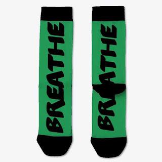 Breathe Socks Green