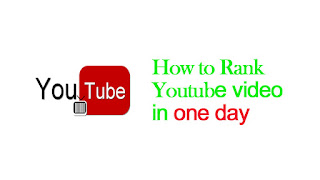 How to Rank Youtube Video in one day