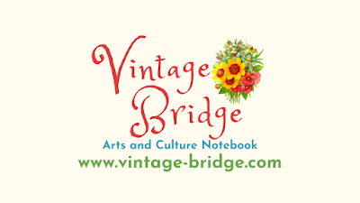 Vintage Bridget Arts and Culture Notebook by Bridget Eileen www.vintage-bridge.com Logo