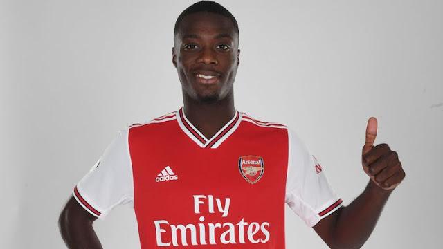 Nicholas Pepe Arsenal FC