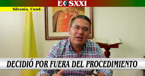 Por derogar nombramientos, Procuraduría sancionó al ex alcalde