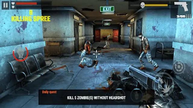 لعبة dead target zombies