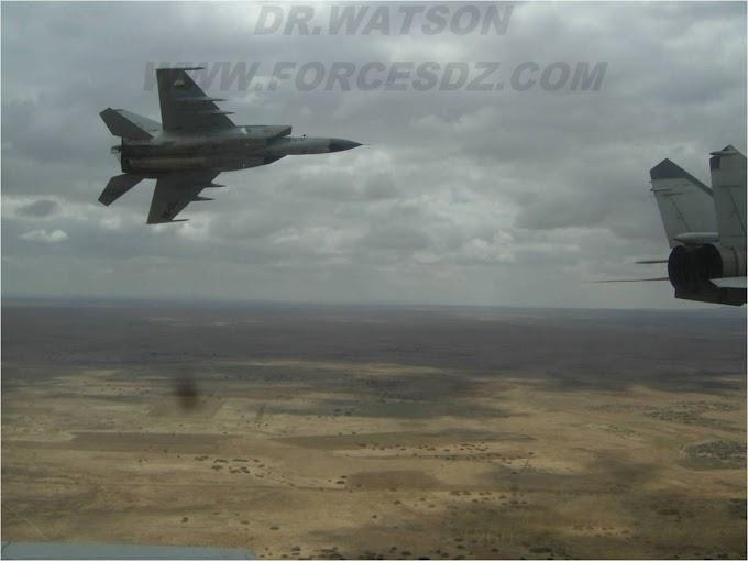 La CIA confirma que los cazas Mig-25 argelinos han penetrado repetidamente en el espacio aéreo marroquí hasta llegar el Atlántico.