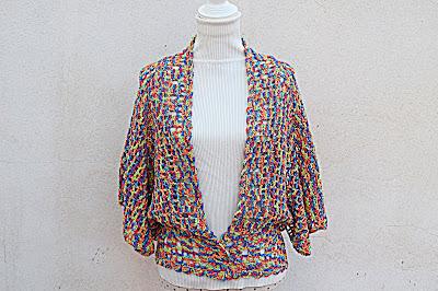 5 -Crochet IMAGEN Linda chaqueta mariposa a crochet y ganchillo fácil y rápida. MAJOVEL CROCHET