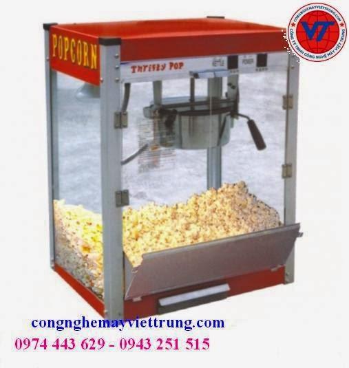 Bán máy nổ bắp rang bơ, máy nổ ngô, máy nổ bắp, máy làm bắp rang bơ dùng điện