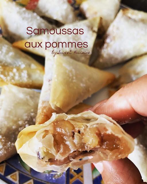 sweet kwisine, pommes, samoussa, chausson, pate filo