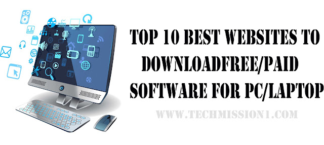 Top 10 Best Websites to Download free/paid Software for PC/Laptop
