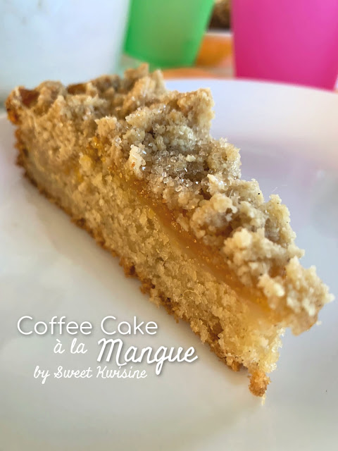 sweet kwisine, mangue, coffee cake, mango, cake, gateau, martinique, guadeloupe, cuisine antillaise, caribbean food