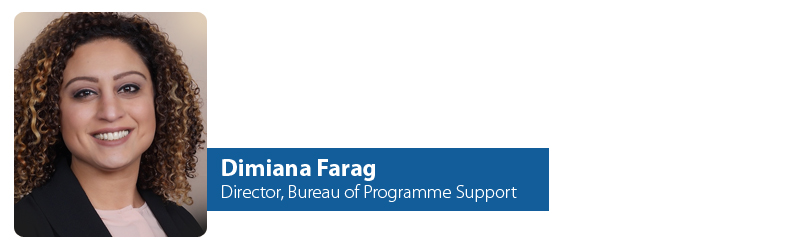 Dimiana Farag - Director, IYF Bureau of Programme Support