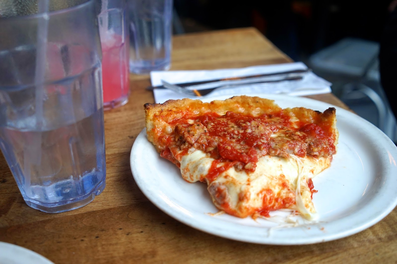 Lou Malnatis pizza chicago