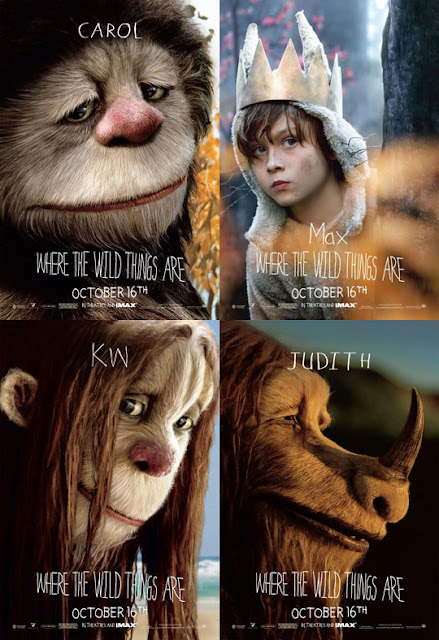 Bosbioskop Where The Wild Things Are (2009)