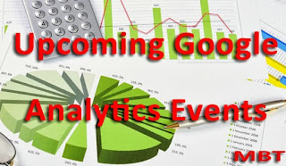 Upcoming Google Analytics Events