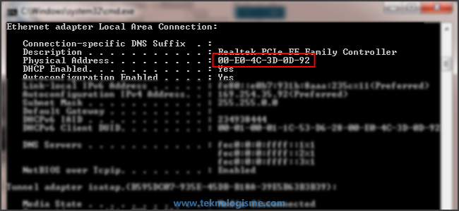JarKom - Pengertian MAC Address dan Cara Mengganti MAC Address