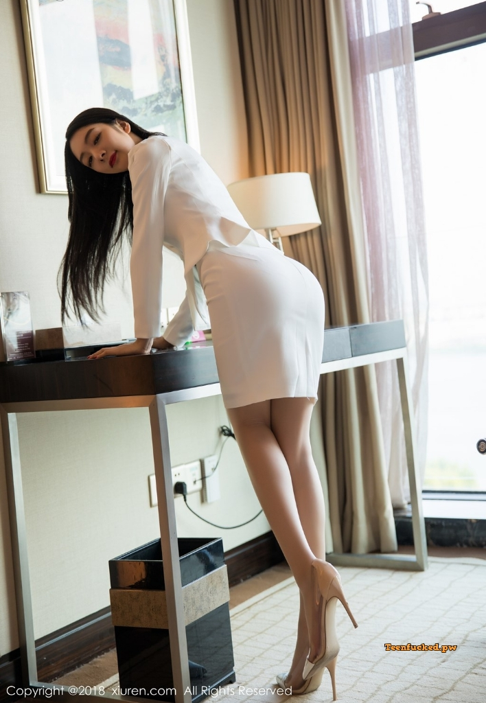 XIUREN No.1209 Xiao Reba Angela MrCong.com 012 wm - XIUREN No.1209: Người mẫu Xiao Reba (Angela小热巴) (52 ảnh)