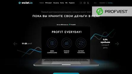 🥇E-Wallet.io: обзор и отзывы о криптовалютном кошельке