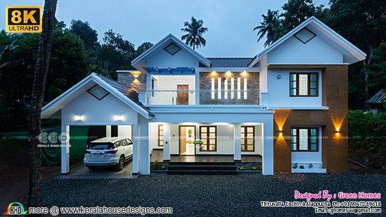 8k photograph of work finished Kerala home