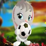 PG Cute Gray Rabbit Escape