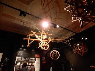 LEONARDO INTERACTIVE MUSEUMの飛行自転車模型