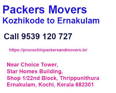 Kozhikode to ernakulam packers movers