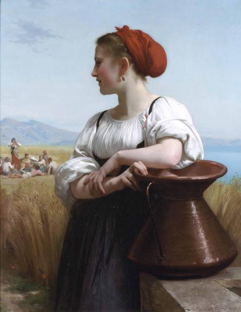 Адольф Вильям Бугро - Сборщики урожая (1868)