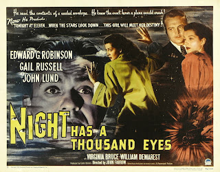 Poster, Carátula, Cover, Dvd: Mil ojos tiene la noche | 1948 | Night Has a Thousand Eyes