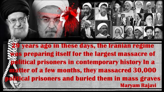 Maryam Rajavi-1988Massacre in Iran