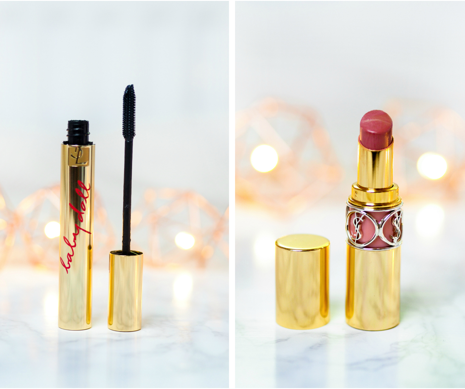 August Favourites YSL Babydoll Mascara Rouge Volupte Shine