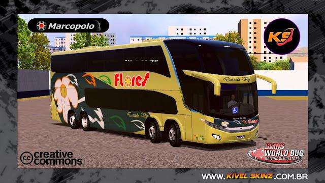 PARADISO G7 1800 DD 8X2 - VIAÇÃO TRANSPORTES FLORES (PERU)