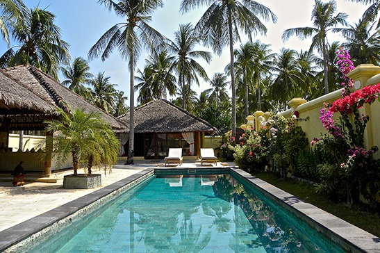family villa kura kura resort karimunjawa in hotel