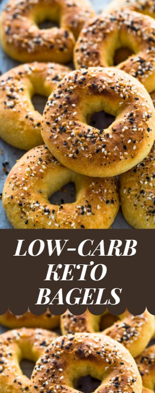 Easy and Delicious Low Carb Keto Bagels
