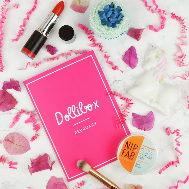 Lovelaughslipstick Blog - Review of February 2017's Dollibox Subscription Box
