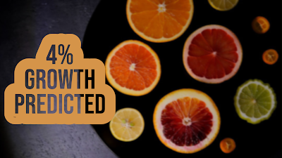 A new prediction foresees a 4% growth in citrus essential oils worldwide in the coming decade.