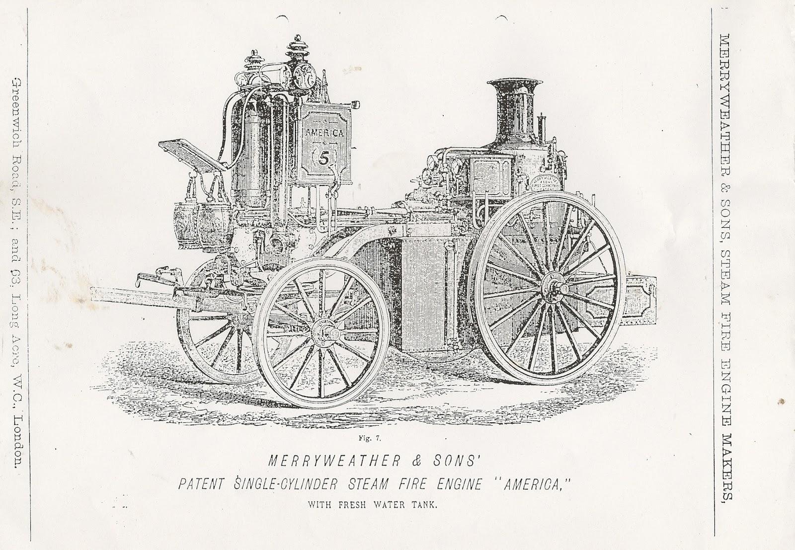 Greenwich Industrial History Merryweathers