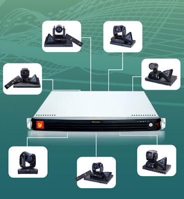 MCU System-24 là thiết bị hội nghị truyền hình AVer điều khiển đa điểm trung tâm