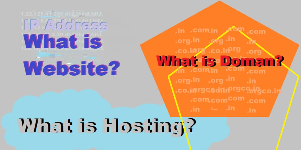What is a website hosting domain?