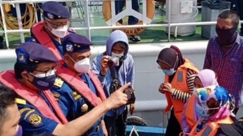 Dicegat Patroli Laut Tanjung Priok, Pemudik Marah dan Menangis