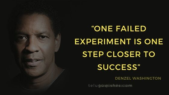 One failed experiment is one step closer to Success