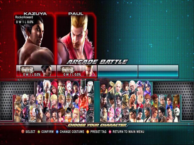 Tekken Tag Tournament 2 Highly Compressed Free Download