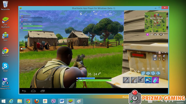 fortnite mobile pc emulator